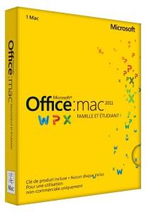 712HQoaPLtL. SL1500  206x300 Telecharger Office Mac Famille et Etudiant 2011 Crack